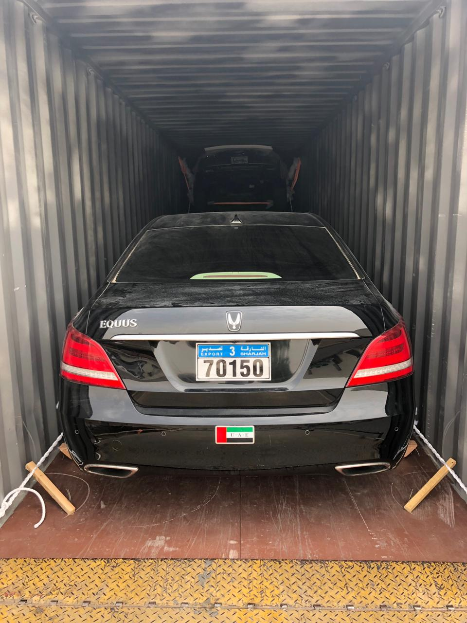 Car Shipping from UAE to Poland
